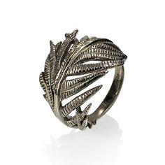 """Ring """"Feder""""  #impressionen #schmuck"""