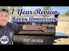 1 Year Anniversary REVIEW of the Pit Boss Pro Series 1100 1 Year Anniversary, Smoker Recipes, You Youtube, Boss, 1st Anniversary, Smoking Recipes