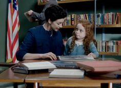 Boston 1954 Claire (Caitriona Balfe) and young Brianna (Niamh Elwell) in Episode 207, Faith
