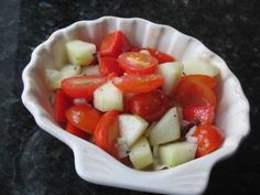 This recipe is from Womack House, a long ago country kitchen in Fulshear, TX. It tastes like summer!