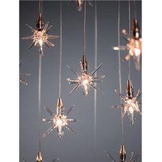 Star Pendant, $1850 on www.artisancraftedlighting.com