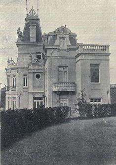 Palacete Maza. Paseo de la Castellana. Madrid.