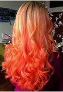 Hair Color Winter 2016 2017 Sunset Tie-Dye Hair Color