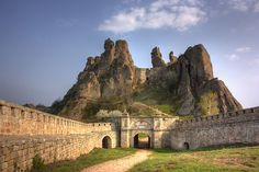 The Castle of Belgradhik, Bulgaria