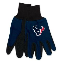 Houston Texans Gloves Two Tone Style Adult Size