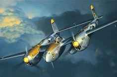 P 38 aviation art google search ww2 aviation pinterest lightning by jack fellows fandeluxe Gallery