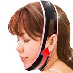 4.45$  Watch more here - 1 Pcs Face Lift Up Belt Sleeping Face-Lift Mask Massage Slimming Face Shaper Relaxation Facial Slimming Bandage   #magazine