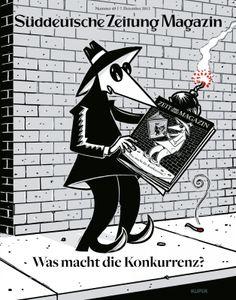 """2013 / Magazine & Newspaper Design / SZ-Magazine """"Competition Issue"""" / Agency: Süddeutsche Zeitung / Brand: Süddeutsche Zeitung /"""