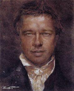 Modern Renaissance 10 - Worth1000 Contests. Pitt Portrait