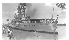 USS Oklahoma in 1939