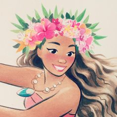Pinup Arena • sunmeejoh: Not much longer until Moana comes...