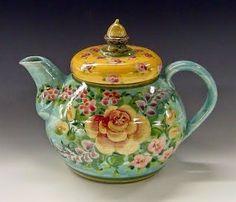 Gorgeous teapot by Sandy Kreyer