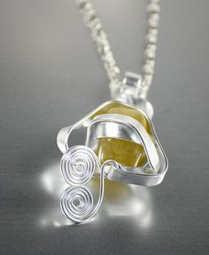 super nova abstraction 2 necklace by SAULSOGALLERY on Etsy