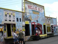 Nellie Bly Brooklyn.  Grew up going here.