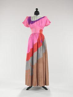 Gilbert Adrian dress, 1944.