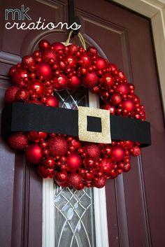 Ornament Wreath, diy;
