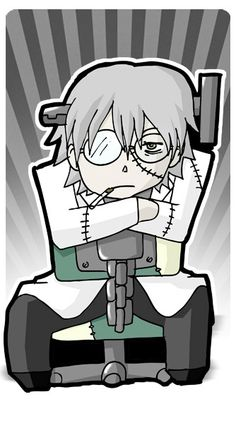 Soul Eater Stein Standee by SquireSwordStandees on Etsy, $10.00