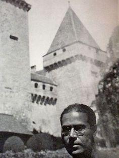 """László Moholy-Nagy at """"La Sarraz"""", 1932"""