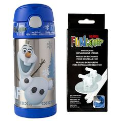 Thermos 12 Ounce Funtainer with 2 Clear Replacement Straws ** Find out more about the great product at the image link.