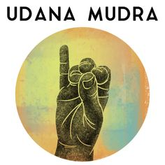 "Udana mudra is a yogic hand gesture that is believed to promote the flow of energy in the throat region. The name comes from the Sanskrit, udana, meaning ""joy"" or ""breathing upward""; and which means ""gesture"" or ""seal. Meditation Art, Chakra Meditation, Chakra Art, Chakra Healing, Hand Mudras, Lord Shiva Painting, Yoga Anatomy, Acupressure Points, Restorative Yoga"