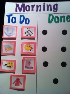 Motivation Charts: How to get your toddler out the door in the morning and into bed at night | North Shore Mama