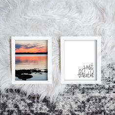 Items similar to Just Breathe Printable Sunset Photo, Beach Photography, Inspirational Quote Printable on Etsy Printable Quotes, Printable Wall Art, Rgb Color Space, Mermaid Invitations, Holiday Gift Tags, Just Breathe, Sunset Photography, Sunset Photos, Affordable Art