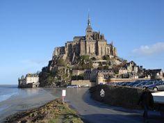 Mont St. Michel.  Photograph by Toni Anderson