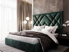 Luxury Bedroom Furniture, Luxury Bedroom Design, Bedroom Bed Design, Home Room Design, Bed Furniture, Home Decor Bedroom, Interior Design, Bed Headboard Design, Headboards For Beds