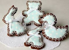 baby shower blue--these are the best cookies ever!!!!!