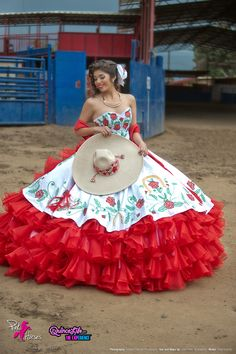 Party! mexican quinceanera quinceanera red these dress