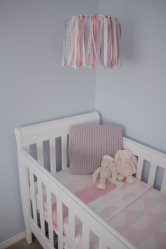 Love to see our DIY projects come to life from readers as seen with this fabric nursery mobile.