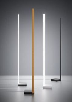 Pivot collection includes hanging lamps, floor lamps, wall and ceiling lamps with led light. Minimal and simple design with a very powerful lighting. Home Lighting Design, Ceiling Light Design, Custom Lighting, Cool Lighting, Interior Lighting, Wood Floor Lamp, Wood Lamps, Eclectic Floor Lamps, Bright Floor Lamp