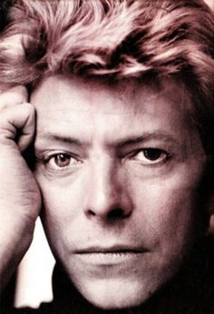 The late musical artist David Bowie.  (He had an eye injury when he was young, so one eye looked a different color than the other.)