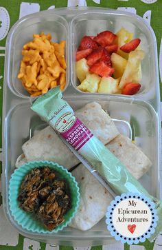 Breakfast Burrito for Lunch