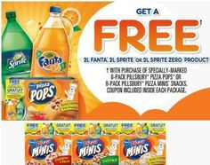 New Coupons For Free Pop on Specialy Marked Boxes Of McCain Pizza Pops