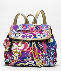 i have the purse that is like this but i want the backpack too!!!