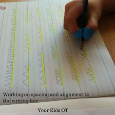 Spatial Relationships for Handwriting: Your Kids OT. Functional Skills for Kids Blog Series.