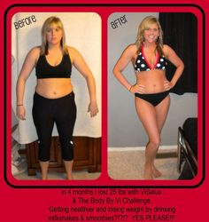 Replace 2 meals a day with DELICIOUS shakes FULL of nutrients and LOSE weight!!!!   For a FREE shake sample http://ashleypartin.myvi.net