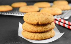 Protein Snickerdoodles via www.ingredientsofafitchick.com @muscle_strength