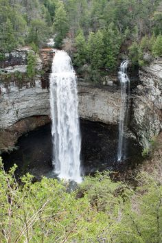 Fall Creek Falls  Tennessee State Park near Crossville,Tennessee My dad helped build this park while in CCC