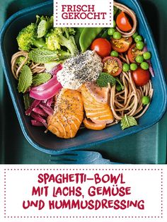 Spaghetti, Cobb Salad, Lunch, Cooking, Ethnic Recipes, Food, Lunch Ideas, Mint, Meal