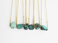 love these turquoise necklaces!!!