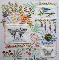 Embroidery Machine Projects over Embroidery Patterns Cats each Embroidery Designs Oesd his Embroidery Stitches By Hand but Embroidery Thread Exquisite Embroidery Designs, Embroidery Sampler, Hardanger Embroidery, Vintage Embroidery, Ribbon Embroidery, Cross Stitch Embroidery, Machine Embroidery, Embroidery Floss Projects, Embroidery Tattoo