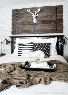 Modern Farmhouse Bedroom!