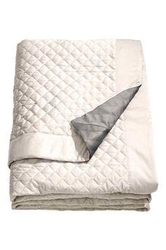 Colcha acolchoada cama casal. | H&M