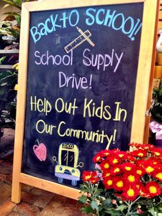 Back To School Supply Drive {2012}