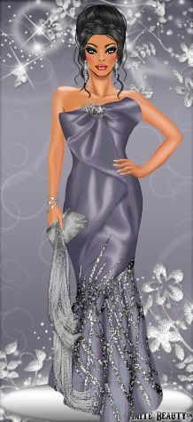 This diva is all dressed up #dress #glitter