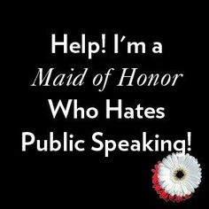 If you're not used to public speaking, then making a wedding speech can be very daunting. With this in mind, I have prepared a few important tips to help you overcome your nerves and deliver a great wedding speech. Remember thes Best Friend Wedding Quotes, Best Man Wedding Speeches, Matron Of Honor Speech, Matron Of Honour, Maid If Honor Duties, Maid Of Honor Responsibilities, Wedding Reception Checklist, Wedding Ideas, Wedding Stuff