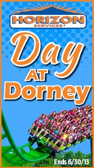 Who wants to go to Dorney Park!? We're giving away 4 tickets to Dorney and a $50 Visa Gift Card! Enter now for your chance to win.