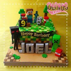 """102 # 6 # – # ( # """"Are you # # # # # – minecraft Mindcraft Cakes, Mindcraft Party, Pastel Minecraft, Lego Minecraft, Minecraft Houses, Minecraft Birthday Cake, 6th Birthday Parties, 7th Birthday, Cake Birthday"""